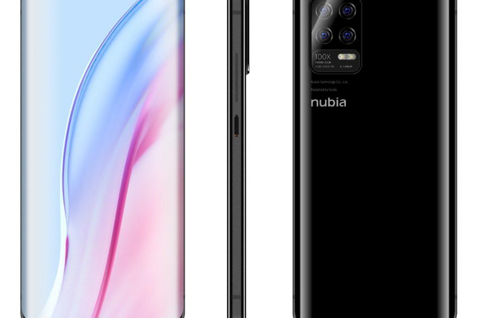 Изтекло изображение на Nubia Z30 сочи четворна задна камера