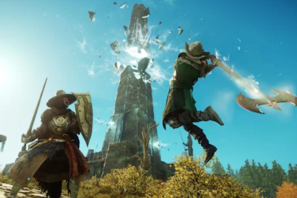 Новата MMORPG игра New World на Amazon вече е тук